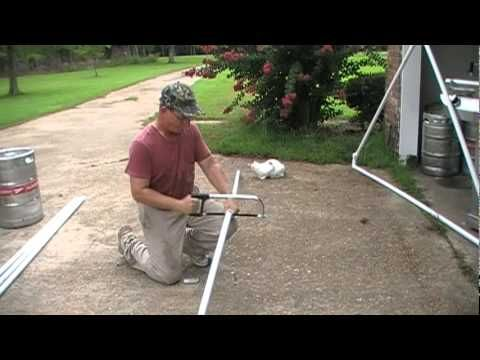 how to build an indoor tent