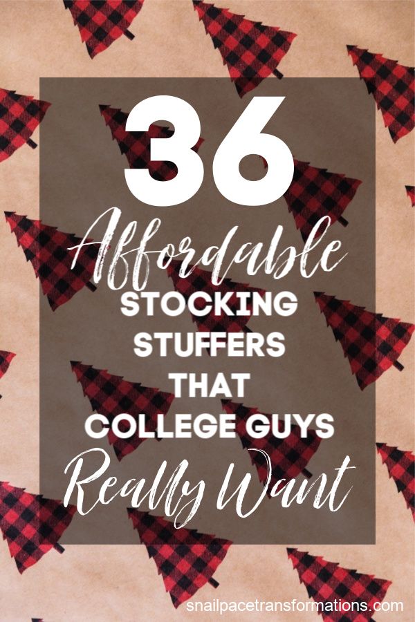 36 Affordable Stocking Stuffers That College Guys Really ...
