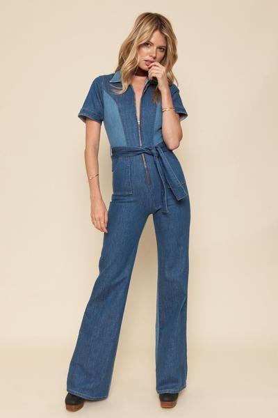 6d8e14f4ce8 Blue Jean Baby Jumpsuit