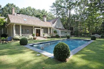Screened Porch And Pool Traditional Pool Atlanta Georgia Contractor Group Dream Home