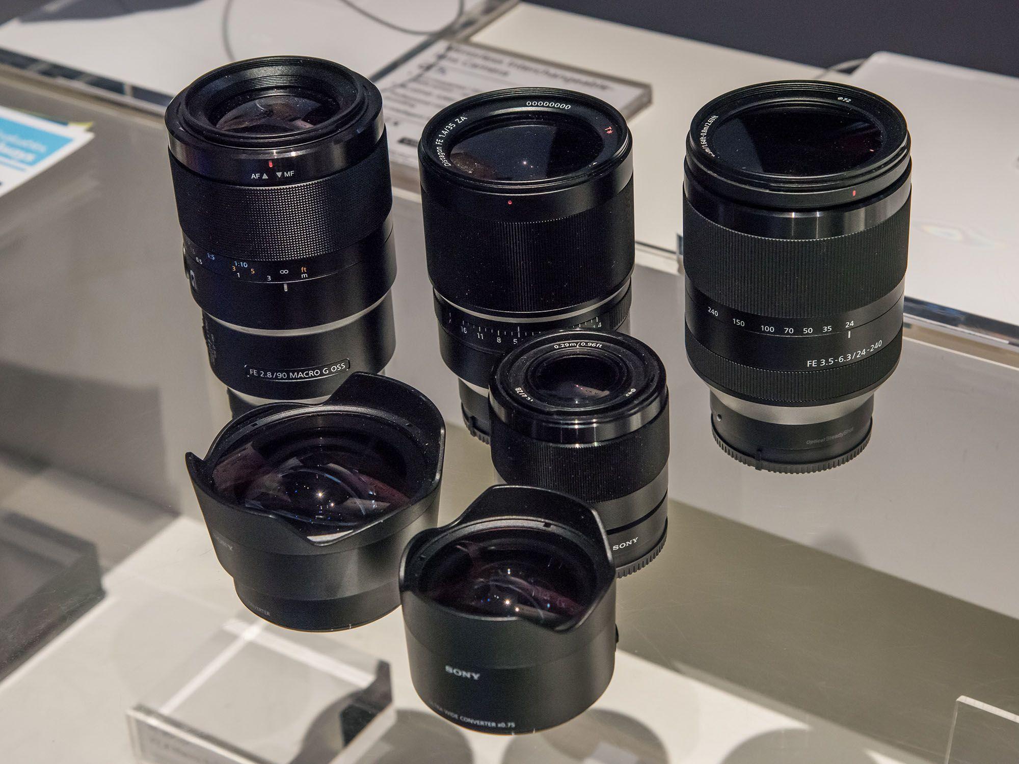 Sony Fe 90mm F 28 Macro G Oss 24 240mm 35 63 Distagon T 35mm 14 Za Lens 28mm 2 Ultra Wide Converter Fisheye