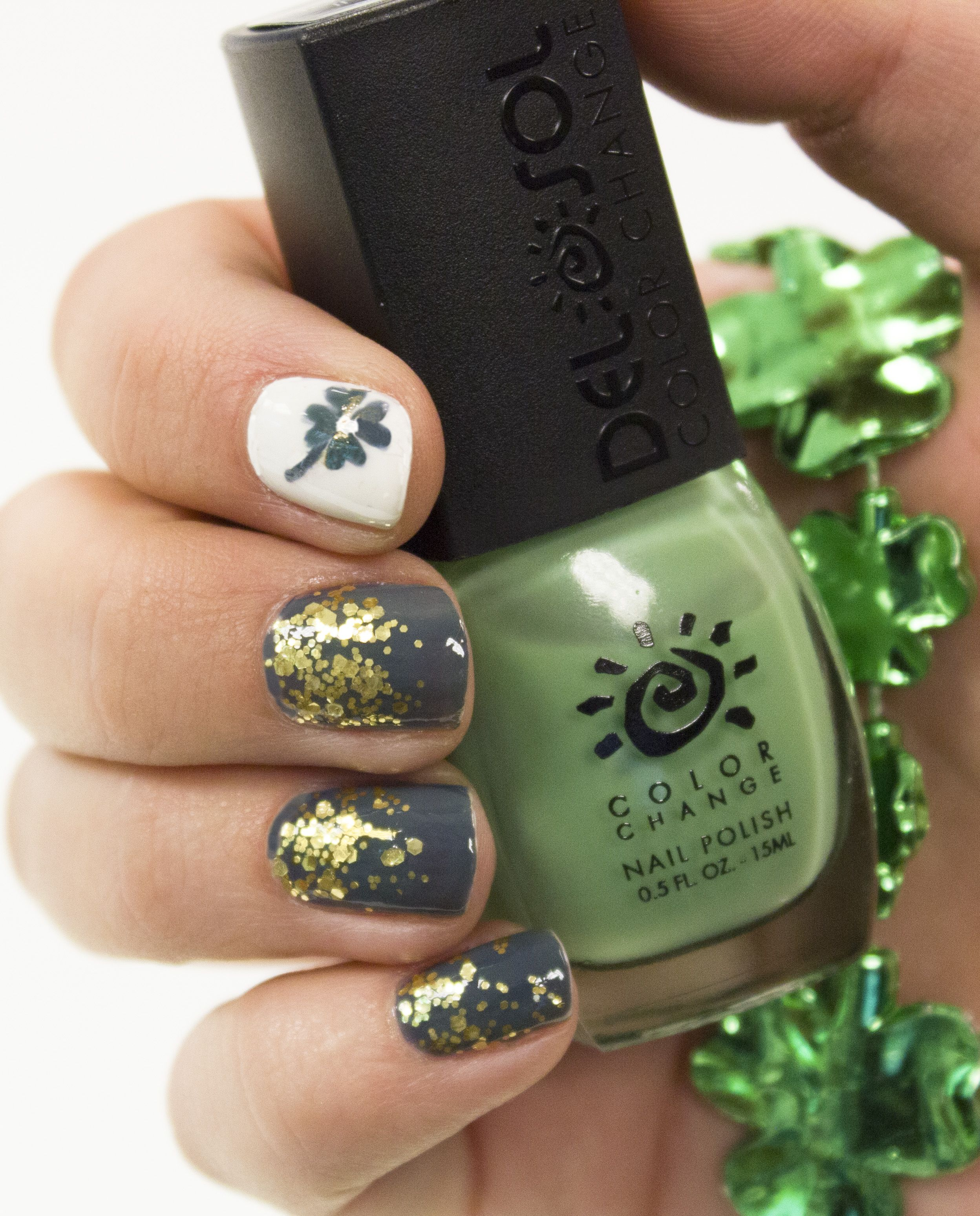 Need green for St. Patrick\'s Day? Del Sol\'s \'Don\'t Be Jaded\' Nail ...