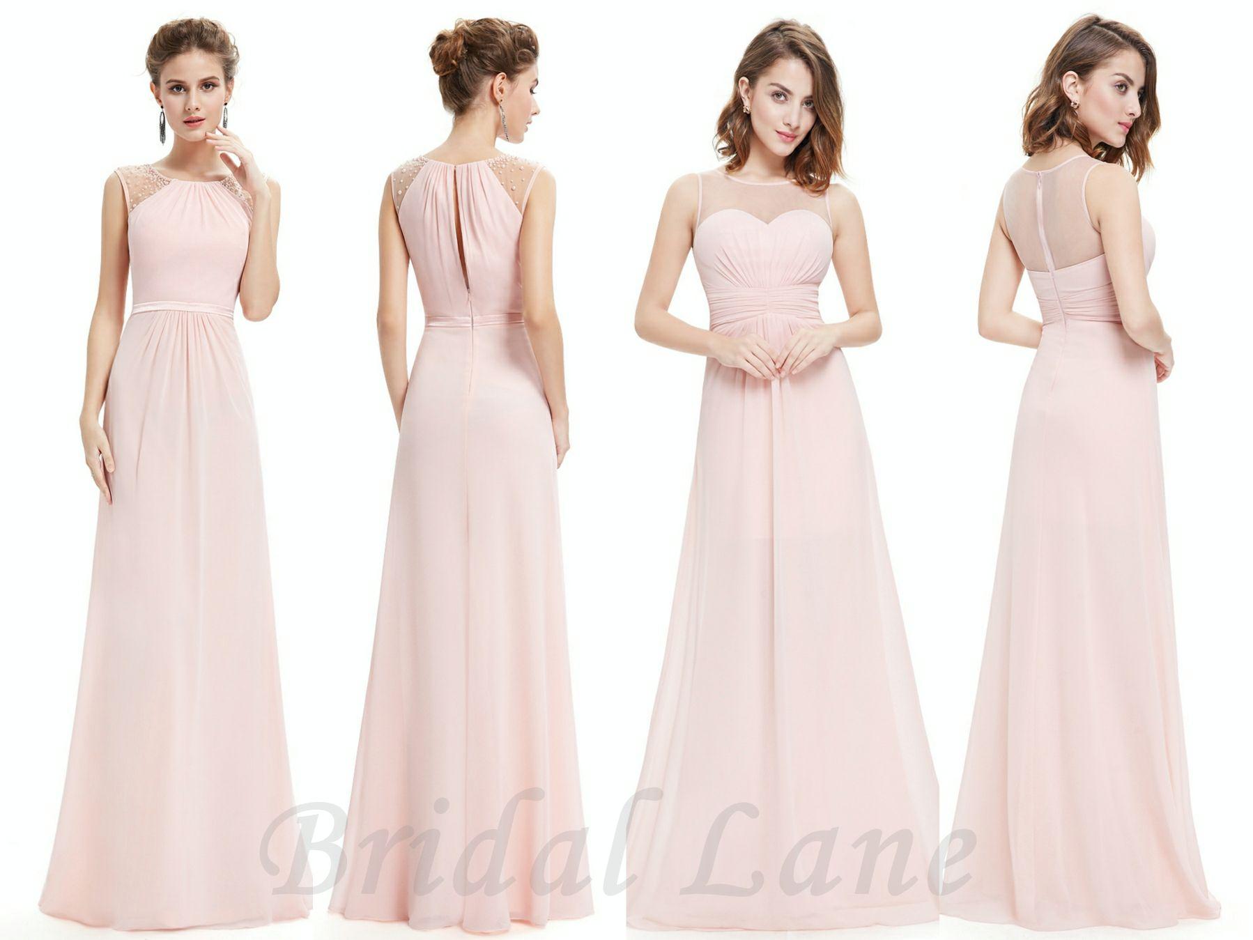 Medium Crop Of Blush Pink Bridesmaid Dresses