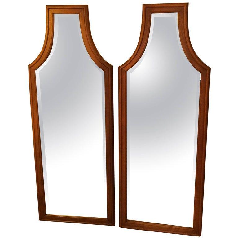 Pair Of 1stdibs Hollywood Regency American Wall Mirrors