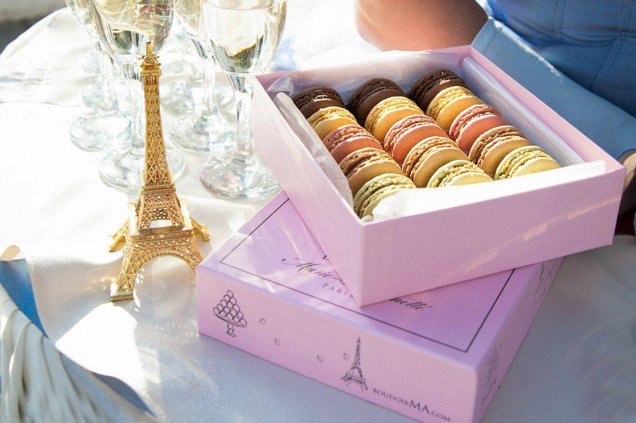 Макаруны от Boudoir de Marie-Antoinette, Paris