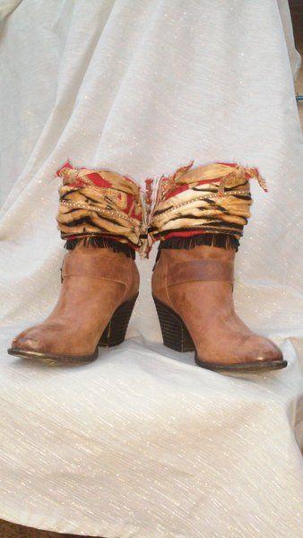 Raven   Boho Accents, Ankle Art, Boho Boot Accents -  www.bohoaccents.com