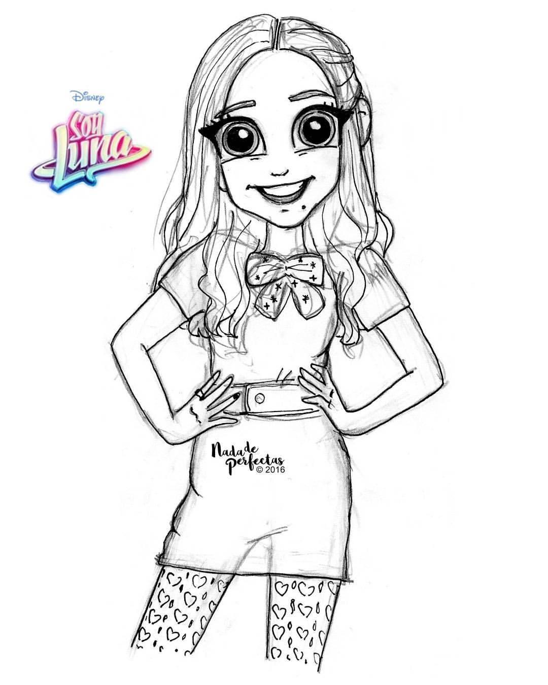Boceto de Nina! @carolinakopelioff para #SoyLunaEnConcierto! de ...