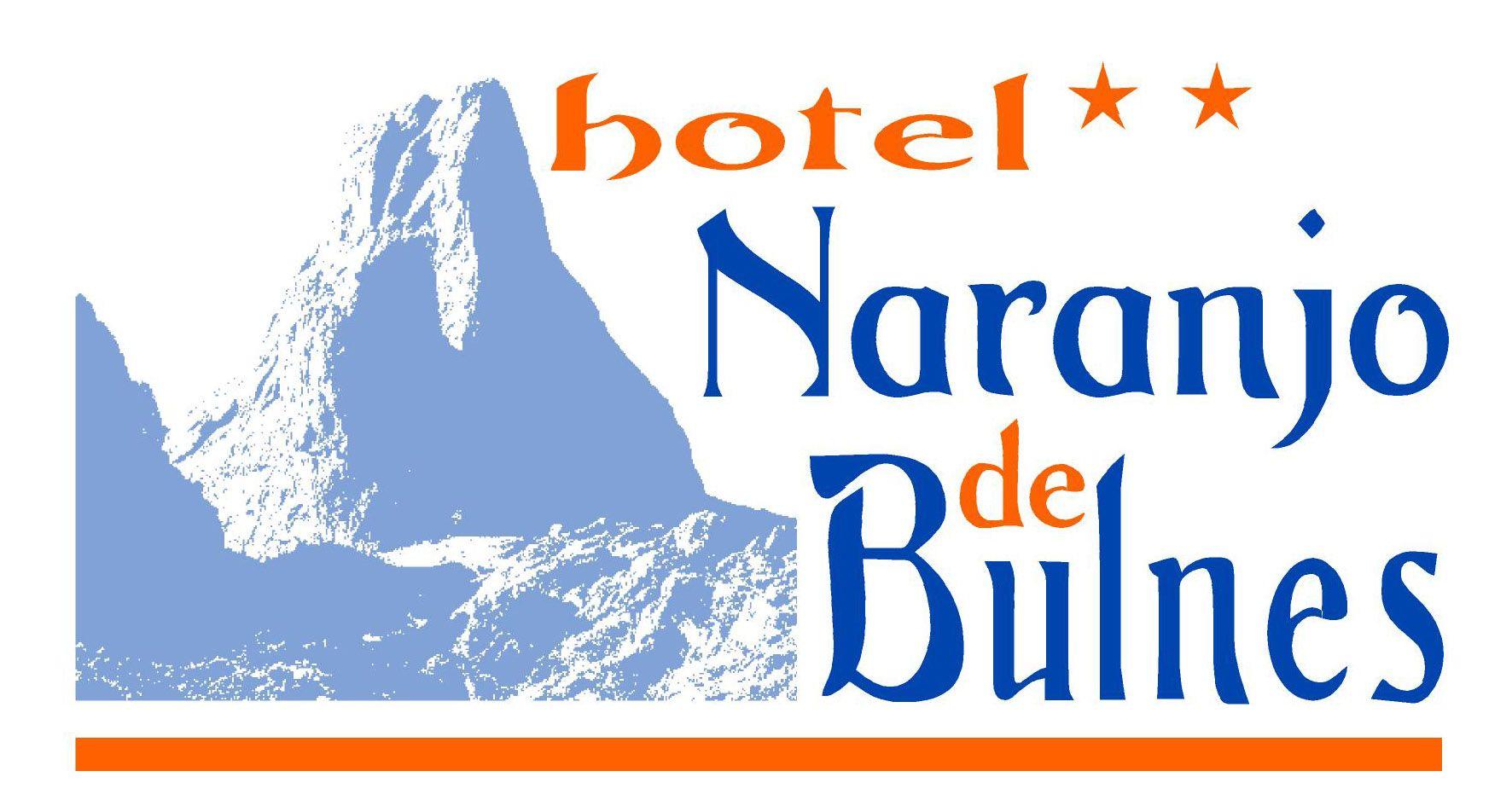 Hotel Naranjo de Bulnes. Logo del Hotel Naranjo de Bulnes.