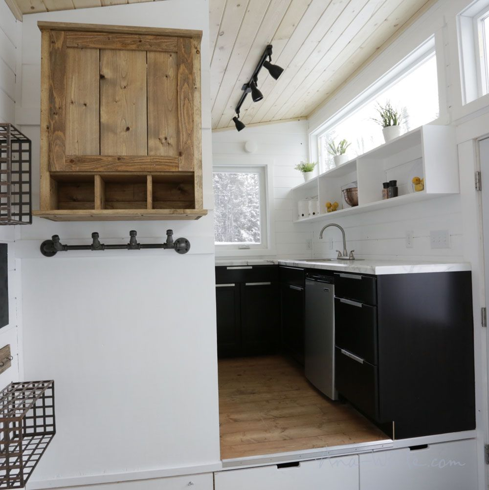7 Kitchen Storage Ideas To Steal From Reallife Tiny Houses Brilliant Modern Kitchen Design For Small House Design Inspiration