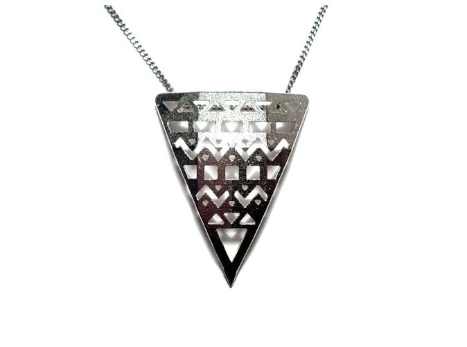 Aztec pendant aztec pendants aztec and 3d printed jewelry aztec pendant mozeypictures Gallery