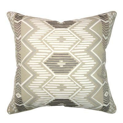 Elements By Erin Gates Aztec Geometric Throw Pillow Color Natural Mesmerizing Elements By Erin Gates Decorative Pillow