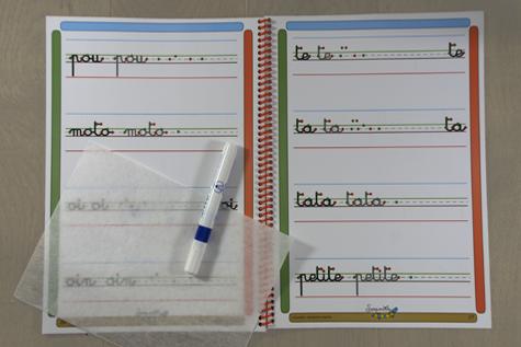 cahier ecriture enfant