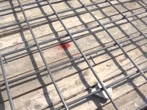 سقف بلاطة عادية مصمتة بلاطة وكمر خرسانة مسلحة مع البسكوت وتسليح في الار Outdoor Outdoor Structures Construction