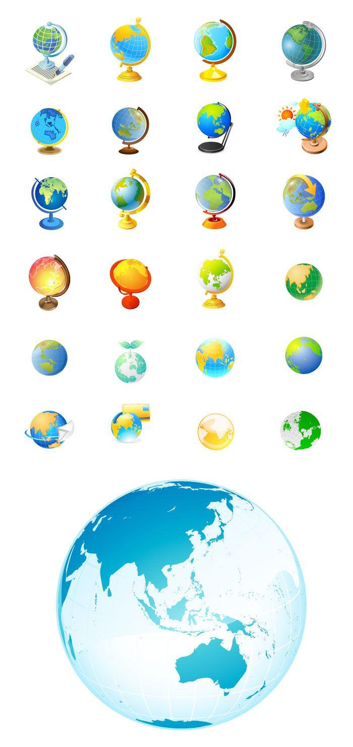 地球儀の無料イラスト Doctors 地球儀 イラスト 地球儀 無料 イラスト