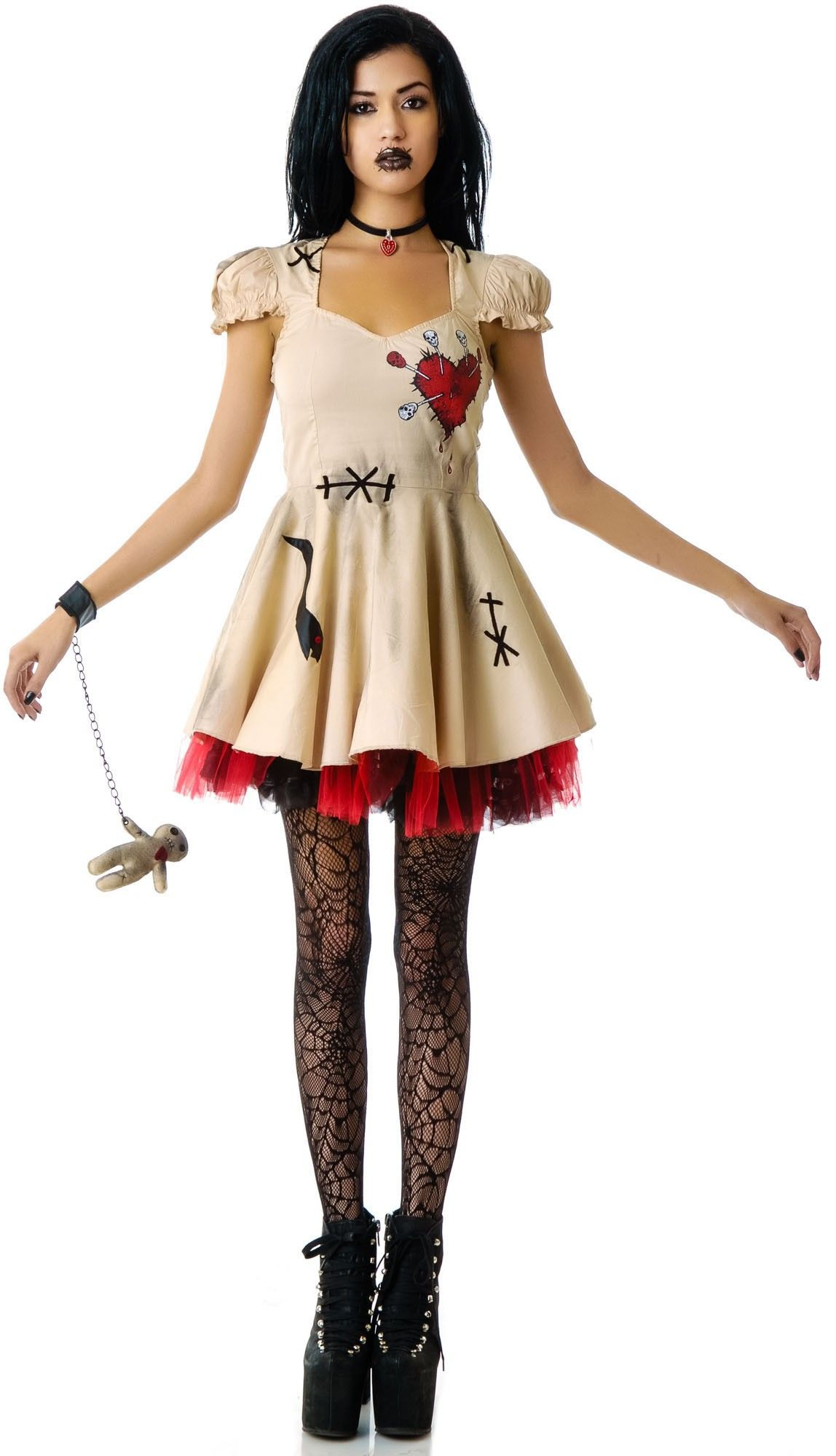 Voodoo Doll Costume | Voodoo dolls, Lip service and Costumes