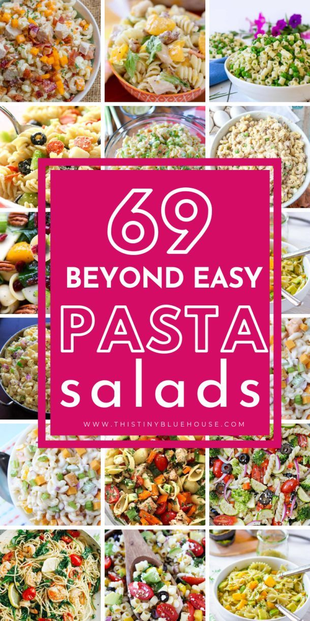 60+ Easy Pasta Salad Recipes Perfect For Summer images