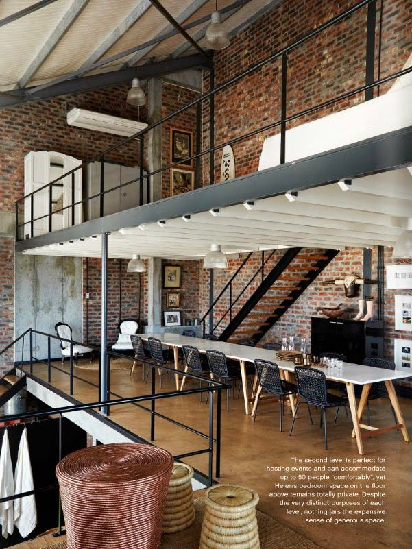 Mezzanine Home Office Loft