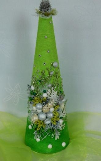 Choinka Boze Narodzenie Allegro Bottles Decoration Christmas Decorations Felt Tree