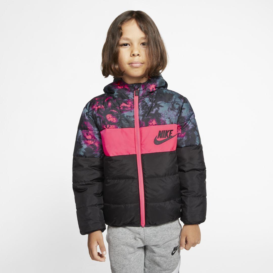 Nike Sportswear Little Kids Full Zip Puffer Jacket Nike Com In 2021 Nike Sportswear Puffer Jackets Jackets [ 1080 x 1080 Pixel ]