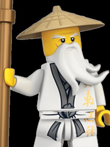 Master Wu Lego Ninjago Legos Lego Minifigures