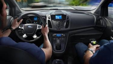 The Xlt Wagon Interior Available Features Shown Ford Transit