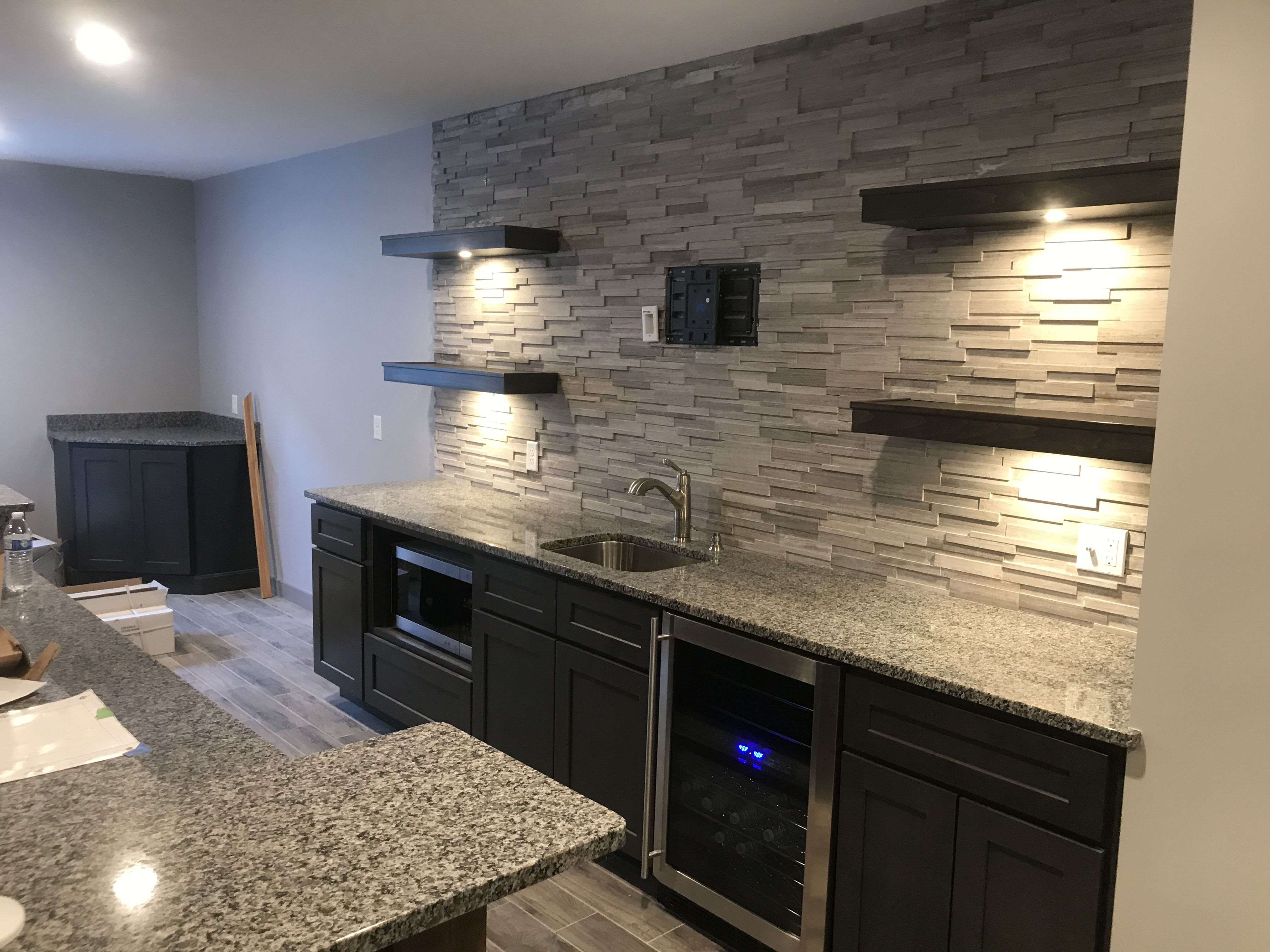 - Backsplash Ideas In 2020 (With Images) Man Cave Basement Rustic
