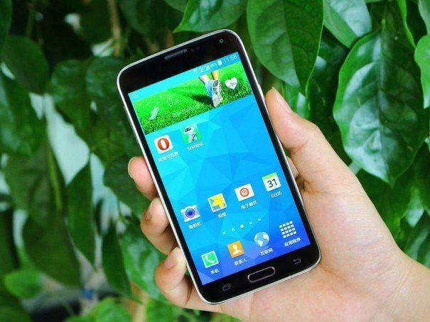 Samsung GALAXY S5: NO.1 phone S7-Klon für unter EUR 150,00