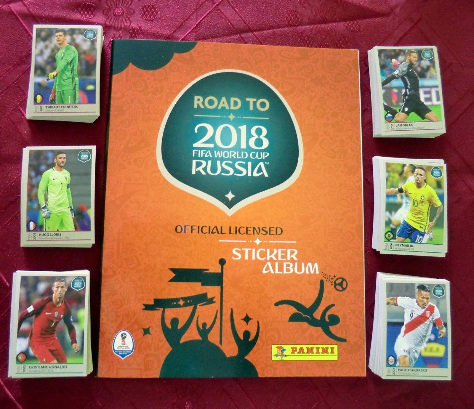 Panini Road To World Cup Russia 2018 Fifa Complete Set Stickers No Album Ebay Sticker Album World Cup Russia 2018 Fifa