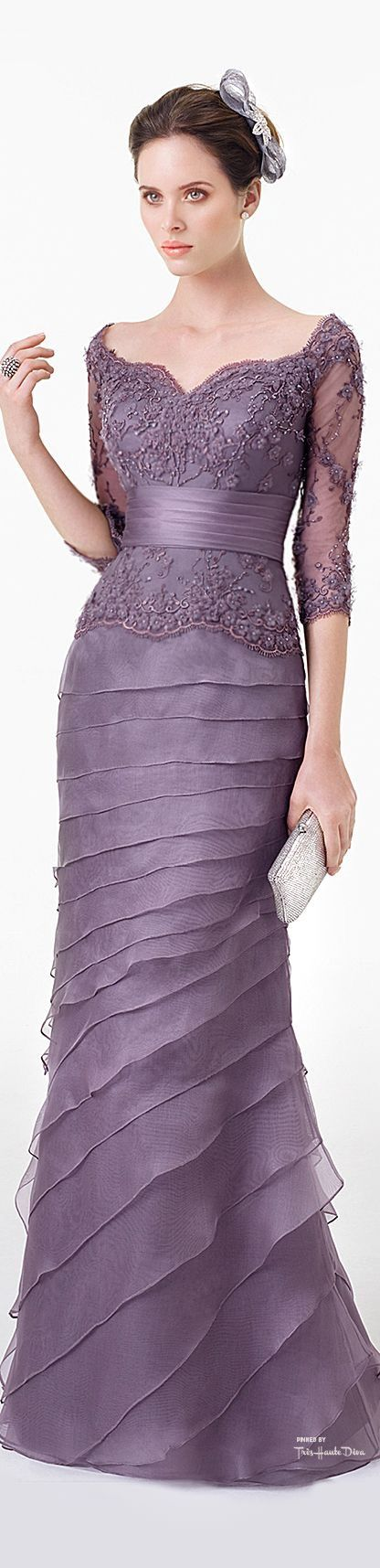 Mother of the Bride or Groom gown - beautiful in violet
