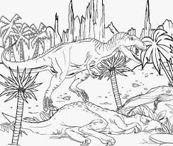U Jurassic Park 3 Coloring Pages