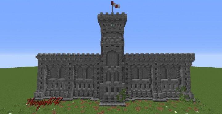 Castle Tower Minecraft
