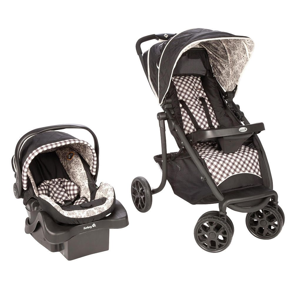 Safety 1st SleekRide Premier Travel System Stroller ABC