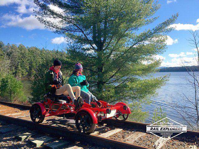 Warren Co Railroad May Host Rail Bike Excursions Rail Car Bike Ride Bike