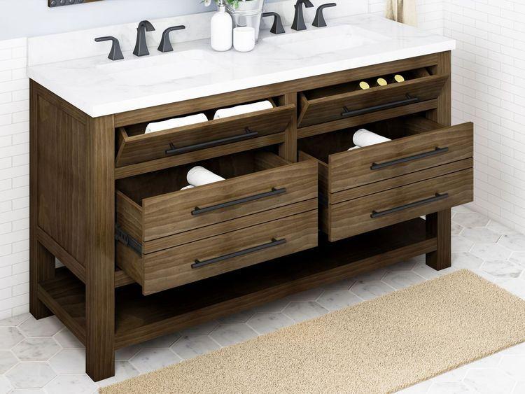 26+ Wooden double vanity bathroom inspiration