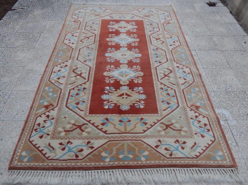 5x8 Vintage Turkish Rug Nomadic Milas Melas Carpet 5 1 X7 9 Wool Floor Ebay