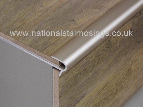 Stair Nosing Step Nosings For Laminate U0026 Wood Flooring  2.7m   National Stair  Nosings U0026 Floor Edgings