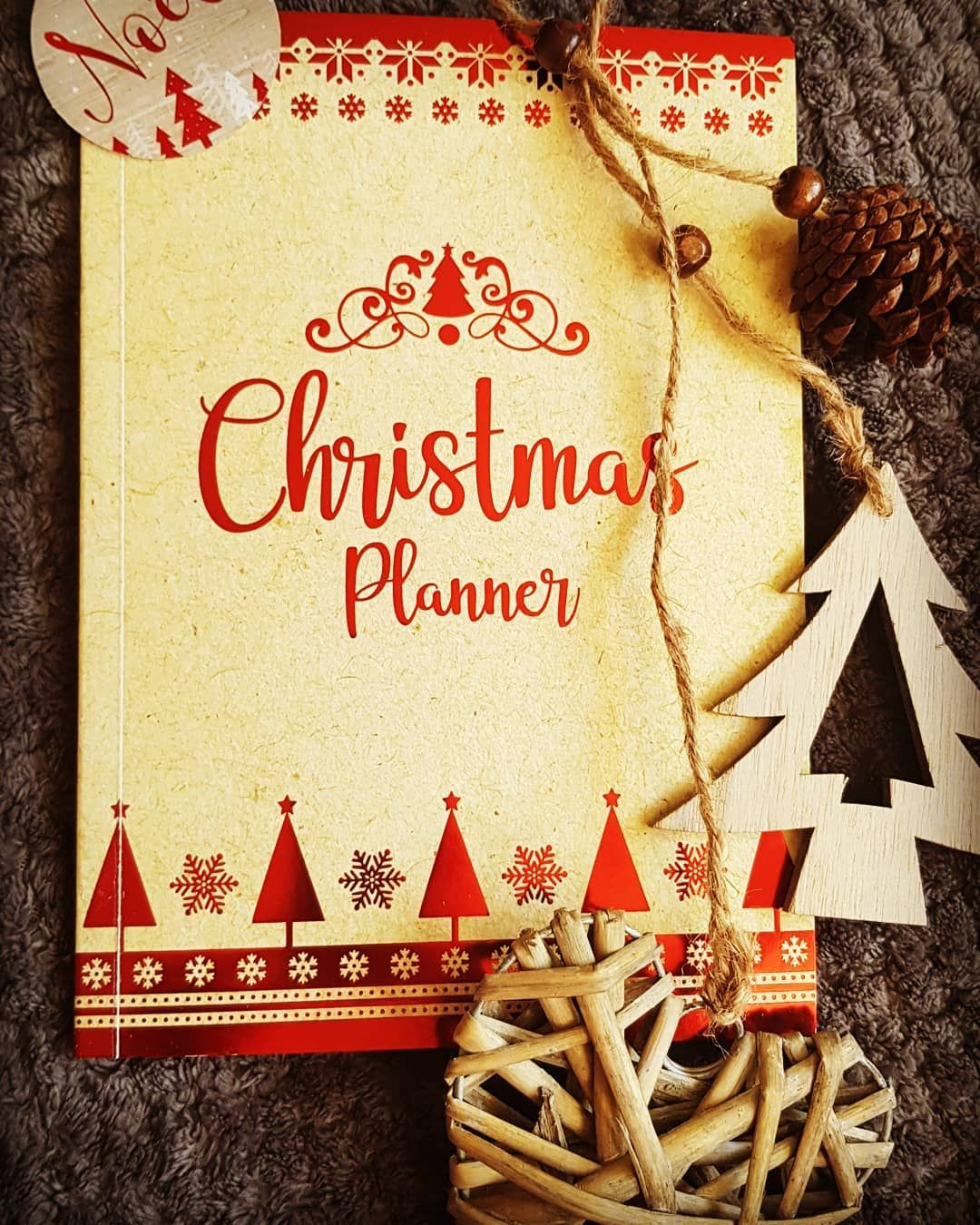 Feeling Festive This Morning Wrapping The First Pressies Ive Bought This Year And Attempting Some Christ Christmas Planner Christmas Crafts Feeling Festive