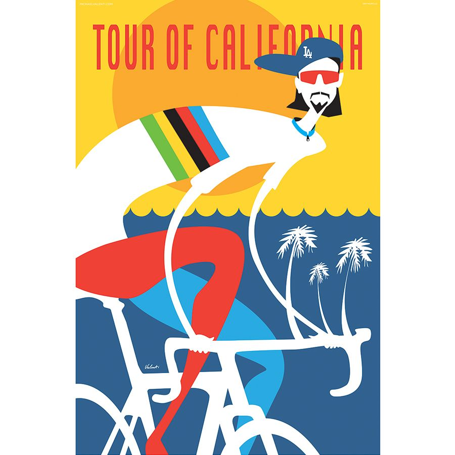 Who better than Peter Sagan to be the poster boy for a California Cycling Tour! Surf. Sun and Fun we are ready for this year's Tour of California!