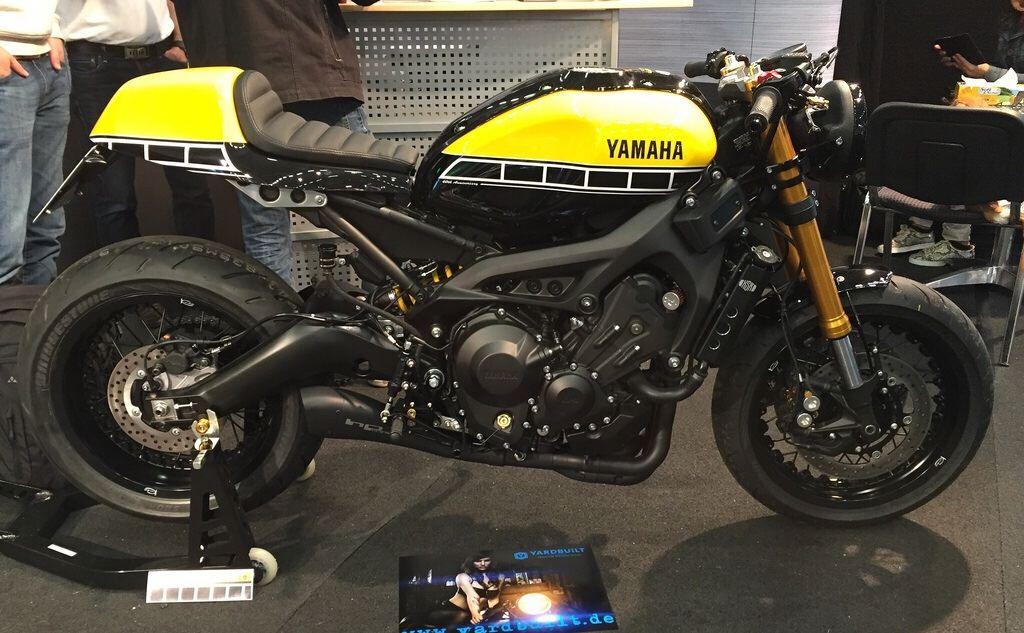 yamaha xsr 900 based custom build picture taken intermot 2016 cologne custom motorcycles. Black Bedroom Furniture Sets. Home Design Ideas