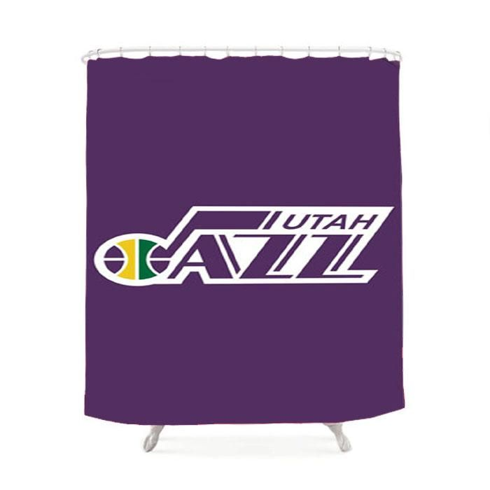 Nba Utah Jazz Shower Curtain | Utah jazz, NBA and Products