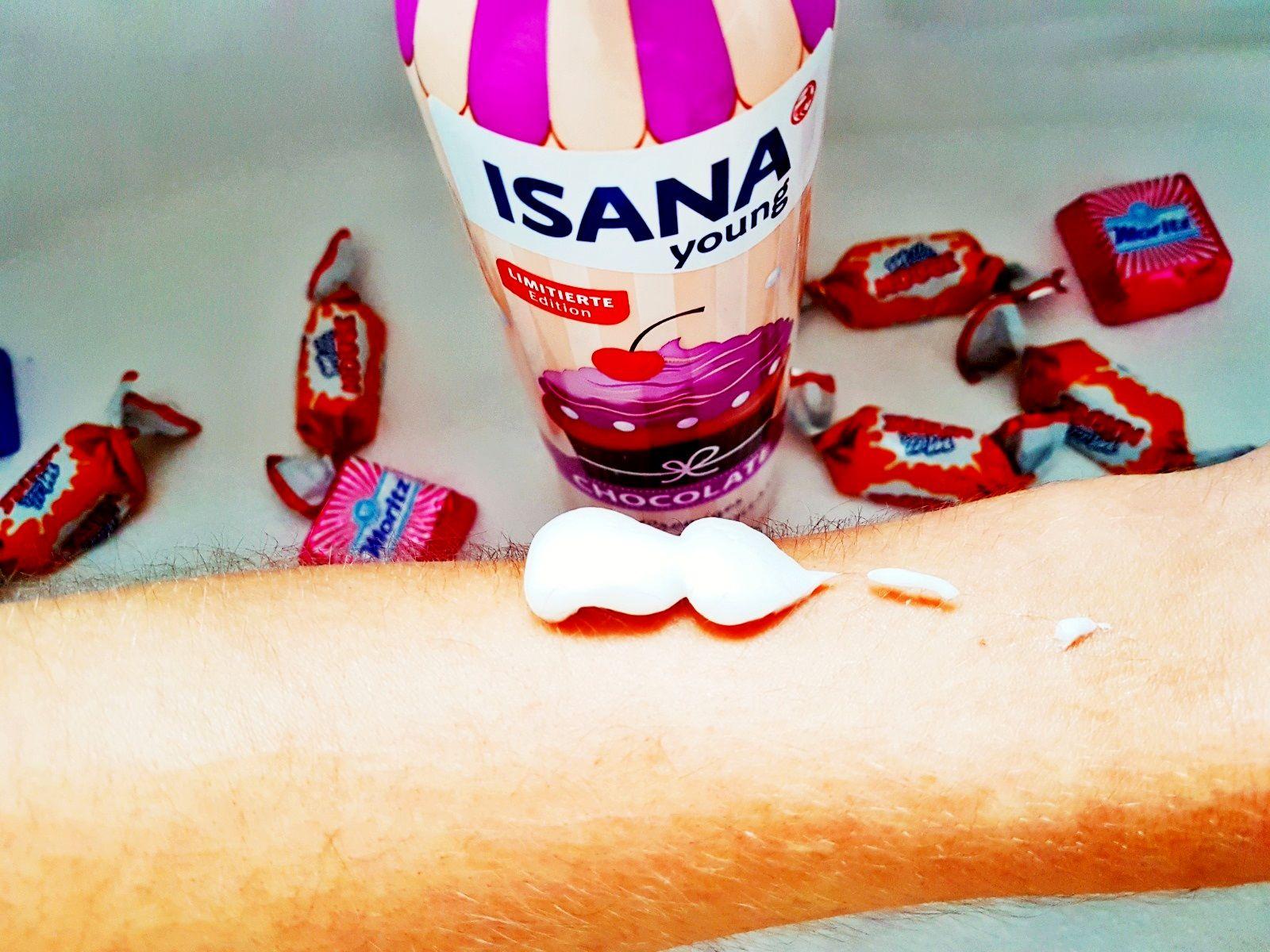Isana  Pflegemousse Chocolate