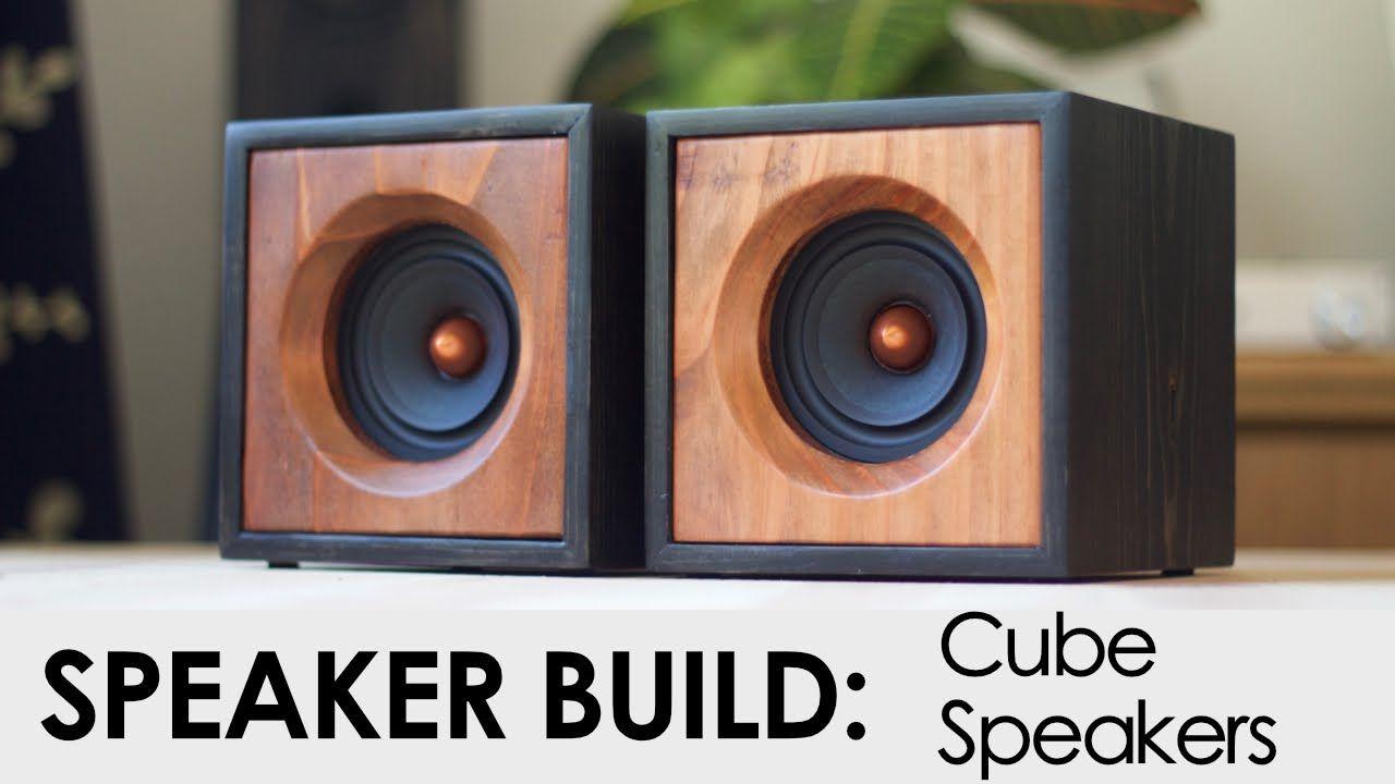Cube Speakers Build | woodworking in 2019 | Speaker box design, Diy