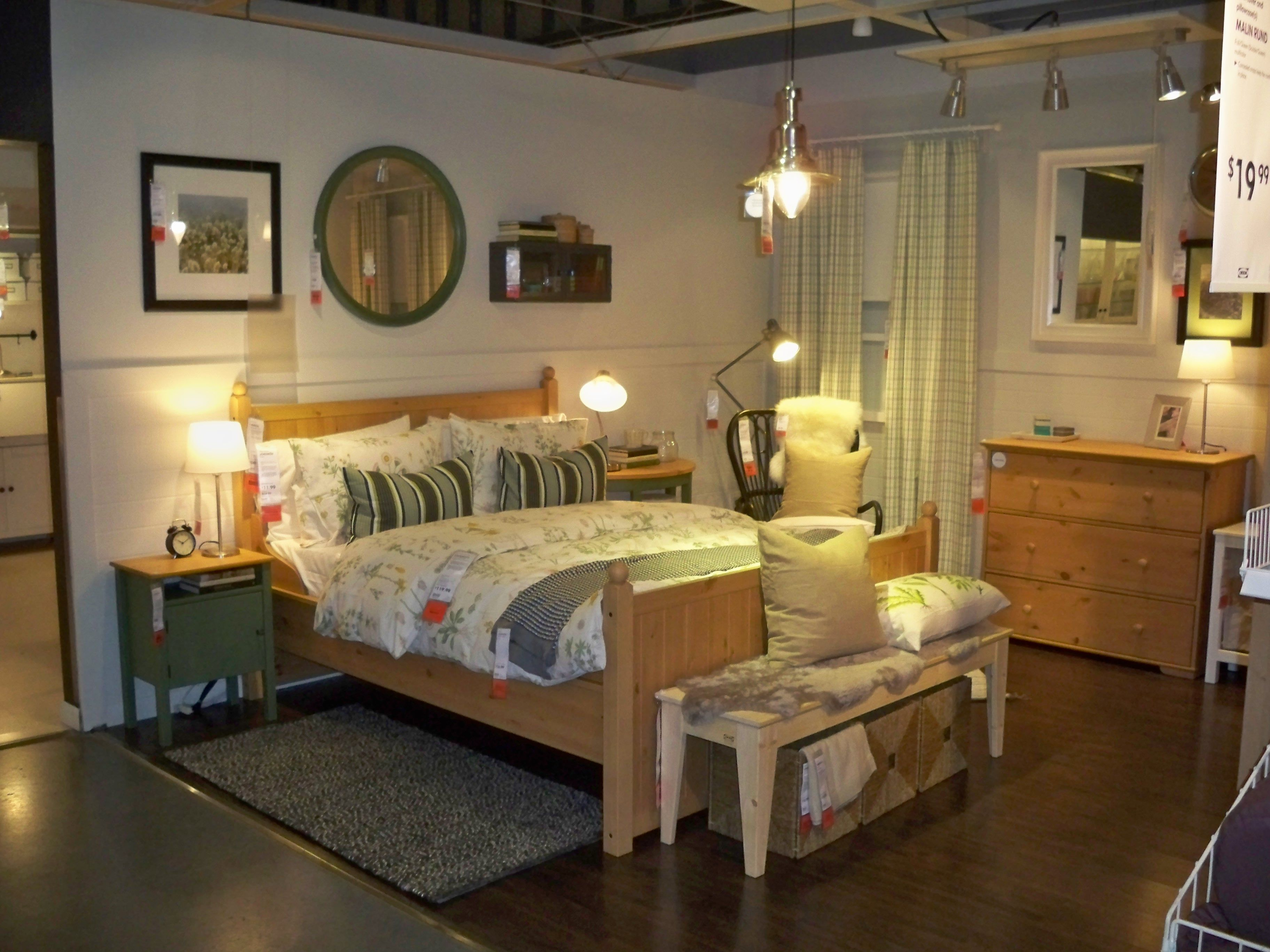 hurdal swedish country i love the room set up so cozy needs more black though bedroom. Black Bedroom Furniture Sets. Home Design Ideas