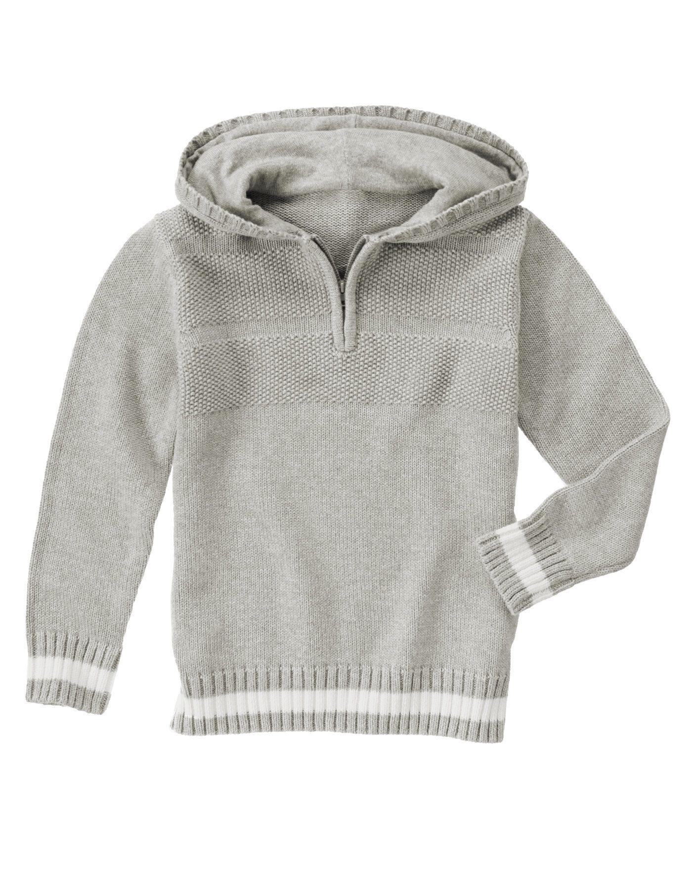 Half-Zip Hoodie Sweater | Gymboree and Boy clothing