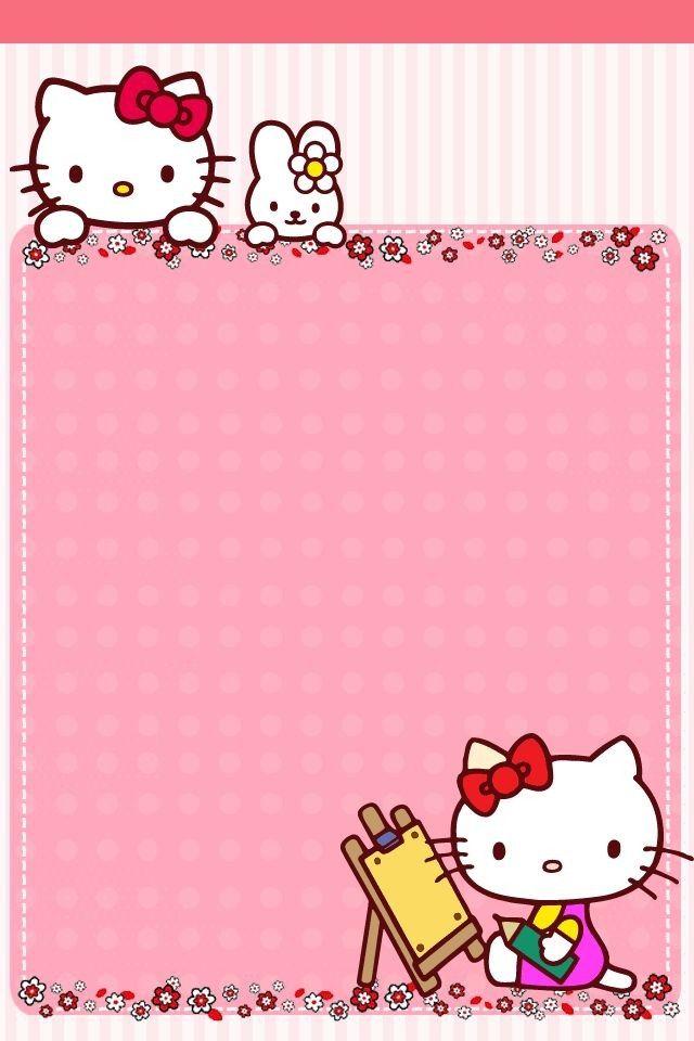 Iphone5壁纸 ੮ 来自玉玉是个稀罕物的图片分享 堆糖网 Hello Kitty Printables Hello Kitty Birthday Hello Kitty Wallpaper