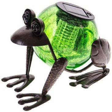 Superbe Let This Happy Frog Garden Light Decorate Your Garden By Day And Light Your  Path At