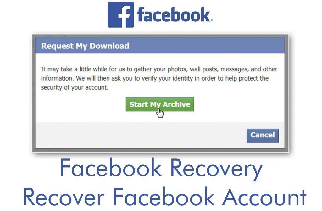 Facebook Recovery Recover Facebook Account Recover Your Facebook Account Accounting Recovery Account Facebook