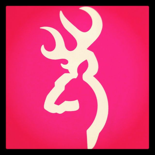 Pink Browning Sign My Hunting Lifestyle Pinterest Browning