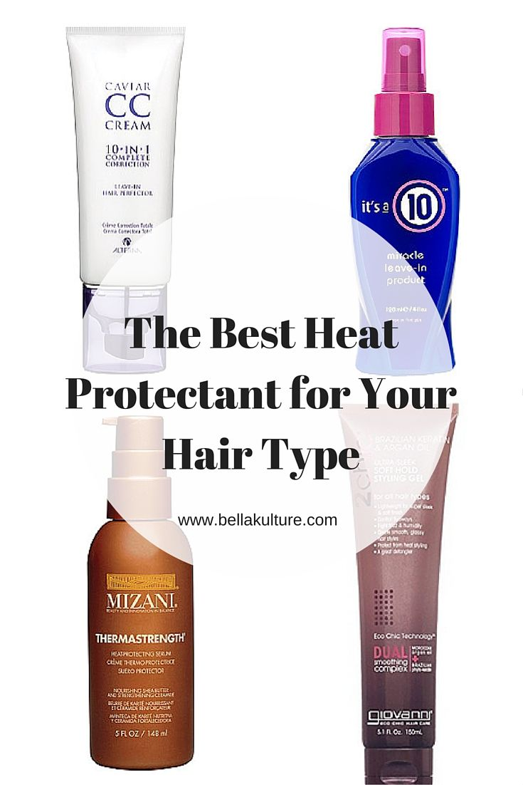 The Best Heat Protectant For Your Hair Type The InfluenceHer