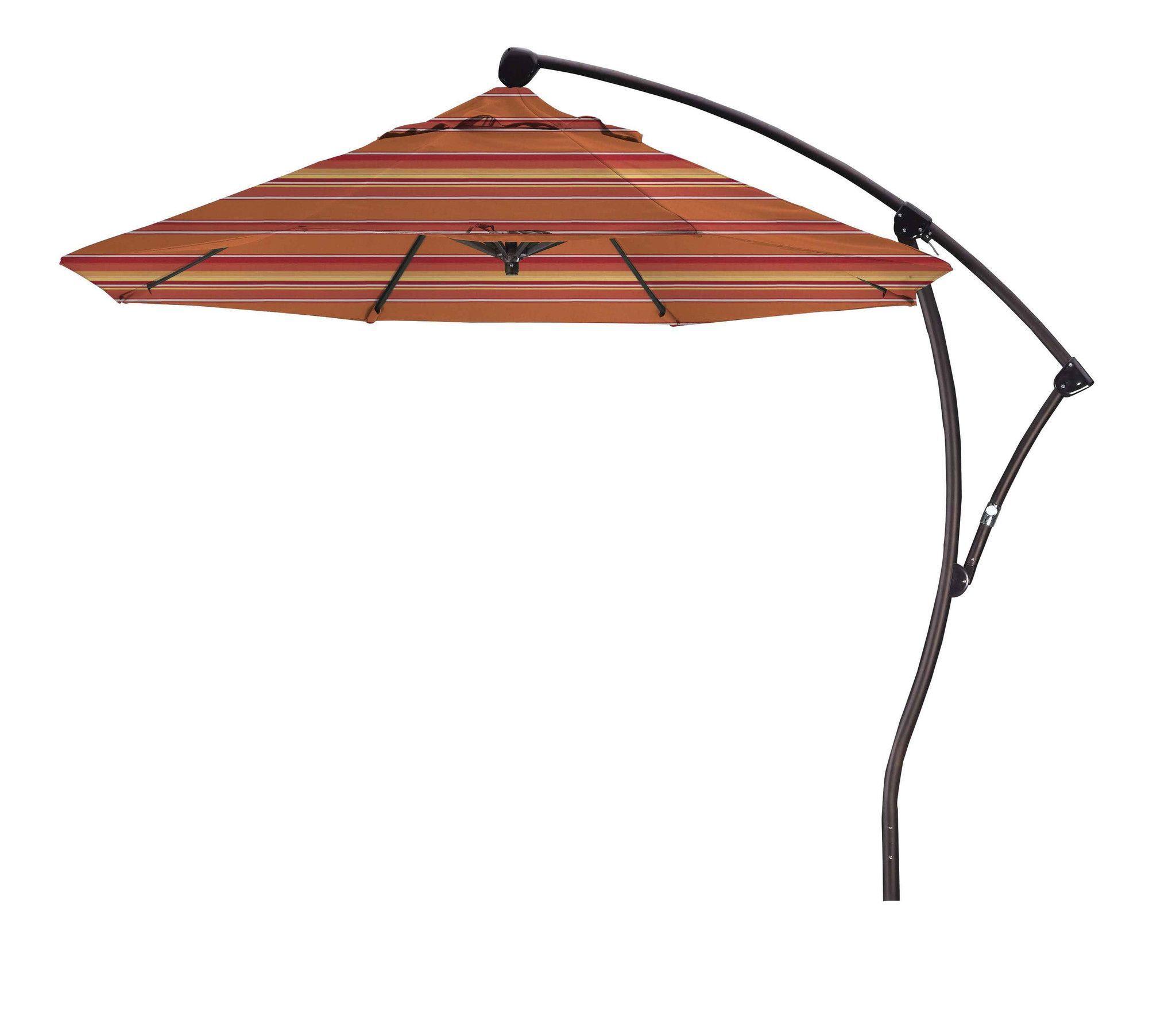 Foot BA Cantilever Umbrella Cantilever Umbrella And Products - Coolaroo 10 foot round cantilever freestanding patio umbrella mocha